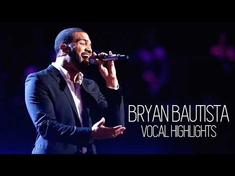 Vocal Highlights on The Voice: Bryan Bautista (C3 - B♭5)