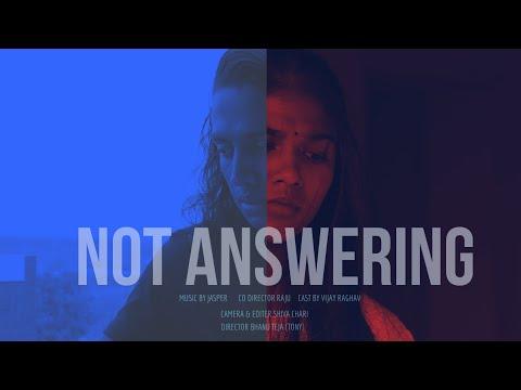 NOT ANSWERING | OFFICIAL TRAILER | FILMDUST | A FILM BY FILMDUST |TELUGU SHORT FILM |