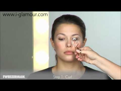 943d57b5cfc Tweezerman Deluxe Eyelash Curler from i-glamour.com - YouTube