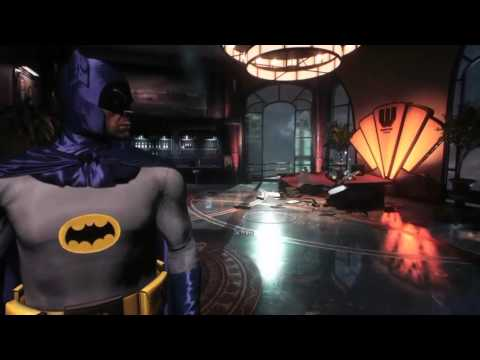 1960s Batman in Arkham Knight with classic music
