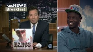 "Jimmy Fallon: Aussie rapper ""Bangs"" hits back"