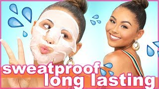 LONG LASTING SUMMER MAKEUP (sweat proof + waterproof) | Roxette Arisa