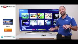 The Samsung Series 8 H8000 Full HD 3D Smart Curved LED LCD TV reviewed - Appliances Online