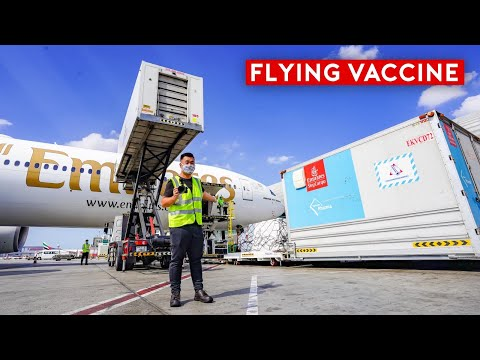 Aviation's Next Challenge: How Do Airlines Transport Vaccines?