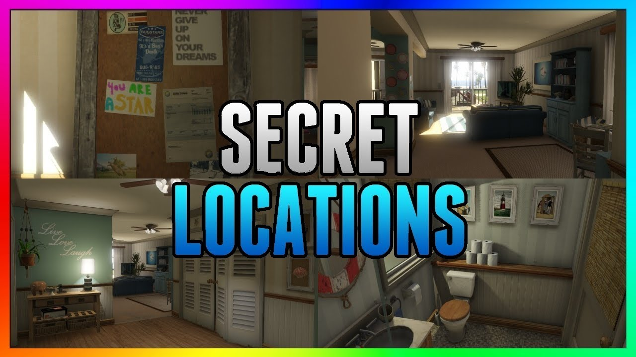 Gta 5 Online Secret House Wallbreach With Interior Ps4 Xb1 Pc Glitches 1 42