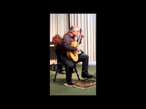 Eric Roth performing Mertz on nineteenth century guitar