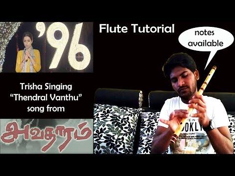 Thendral Vanthu  Avatharam Movie  Flute Tutorial  Ilayaraja