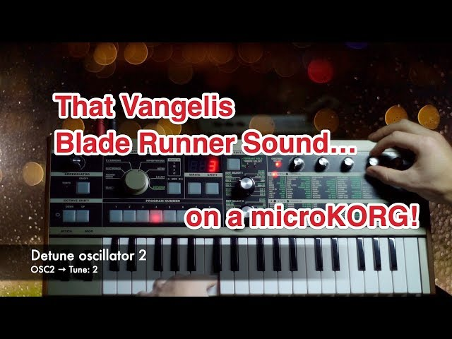 Recreating The Iconic Vangelis Blade Runner Brass Sound On A