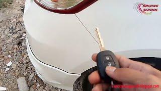 Tips meninggalkan mobil di parkiran yg tidak kita kenal agar aman