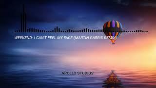 Weekend- I can't feel my face (martin garrix remix)