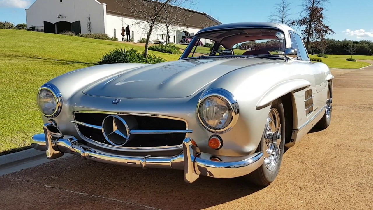 beautiful vintage mercedes in a stunning setting - classic cars