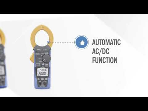 Resistance /& Bluetooth Hioki CM4374 True-RMS Clamp Meter 1000VAC//1500VDC//2000A with Frequency