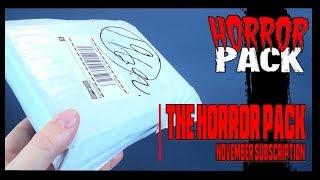 Subscription Spot | The Horror Pack for November 2018