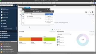 Setting Up Customer and Vendor Lists - QuickBooks 2017 tutorial