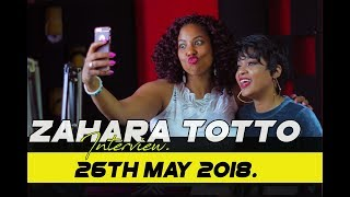 AIM HIGHER IN LIFE, BUT BE YOURSELF - ZAHARA TOTTO ON CELEB SELECT [26th MAY 2018 ]