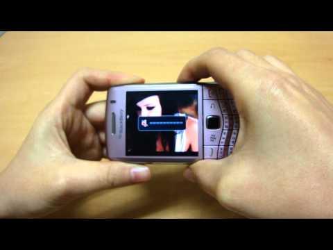 BlackBerry Pearl 3G 사용기 - 미디어 플레이