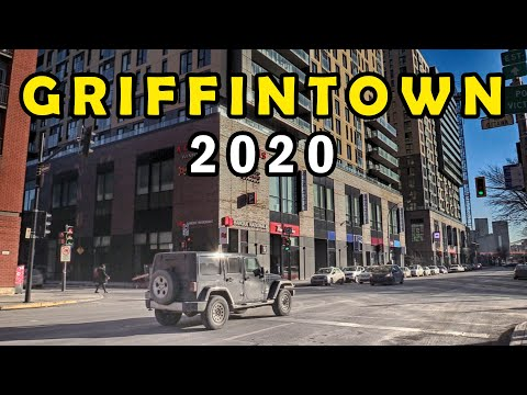 Griffintown Montreal 2020, One of the Trendiest Neighborhood in Montreal, QC, Canada