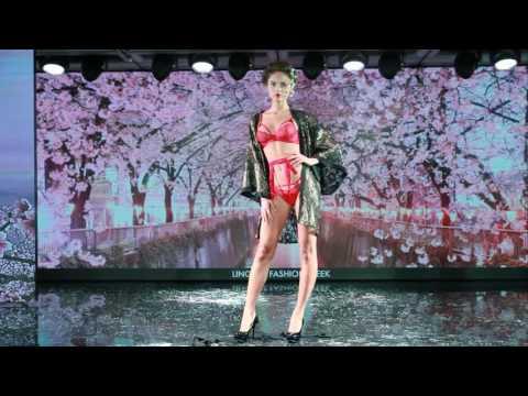 Показ на неделе модного белья Lingerie Fashion Week (Japan)