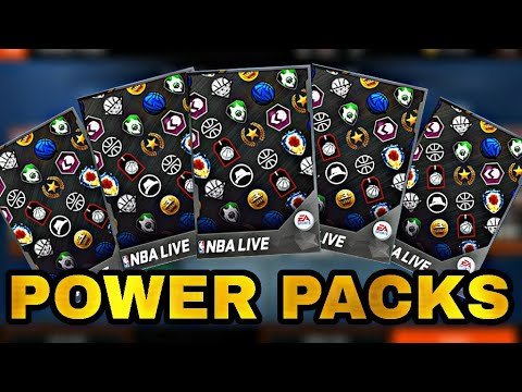 ANOTHER POWER PACKS OPENING IN NBA LIVE MOBILE 18!