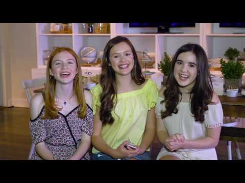 Whisper Challenge with Olivia Sanabia, Abby Donnelly, and Aubrey Miller  POPSTAR
