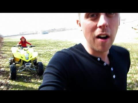 Thumbnail: Crazy Baby On A Quad!! - Fake Title For More Views!!