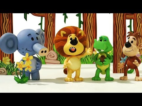 Raa Raa The Noisy Lion Official | 1 HOUR COMPILATION | Cartoon For Children