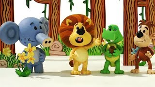 Raa Raa The Noisy Lion Official   1 HOUR COMPILATION   Cartoon For Children