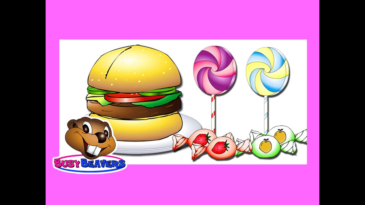 Junk Food Amp Sweets Level 2 English Lesson 14 Clip