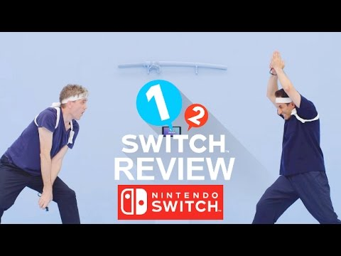 1-2 Switch - Review of all 28 Mini-Games for Nintendo Switch
