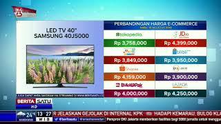 """Perbandingan Harga E-Commerce: LED TV 40"""" Samsung 40J5000"""