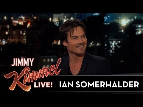 Ian Somerhalder on CrossCountry Road Trip with Nikki Reed
