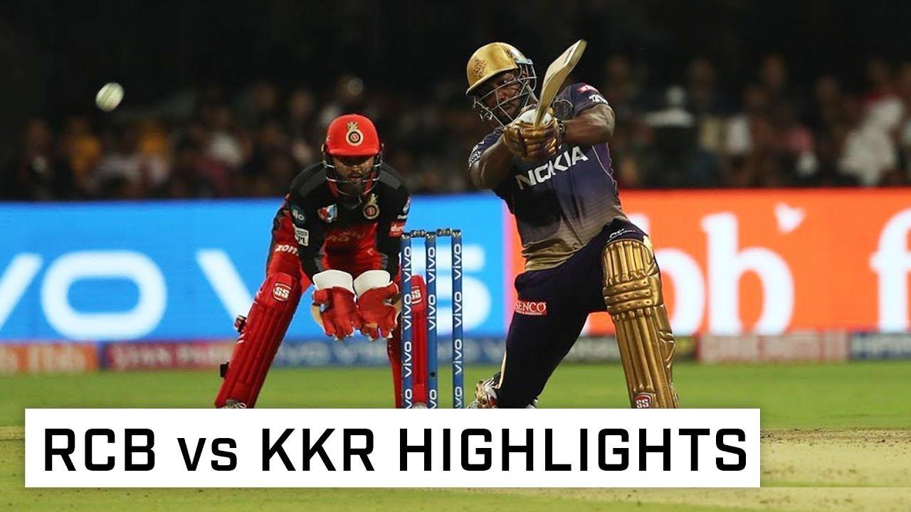 Rcb vs kkr 2019 match full highlights - YouTube