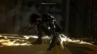 Watch footage from the first level of Deus Ex Mankind Divided running on a PC