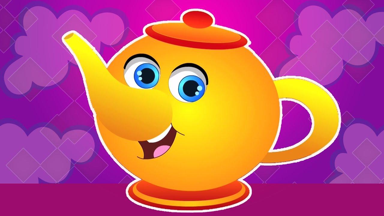 Анимация, чайник веселые картинки