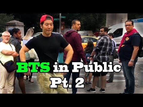 DANCING KPOP IN PUBLIC COMPILATION - BEST OF BTS Part 2 by QPark!!