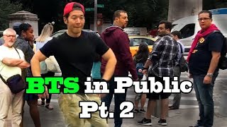 DANCING KPOP IN PUBLIC COMPILATION - BEST OF BTS Part 2 by QPark!!
