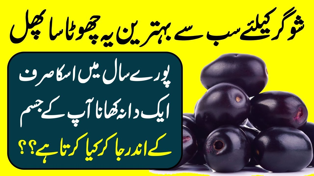 If You Eat 1 Black Plum (Jamun) In A Year Then What Happens With Your Body  Urdu Hindi || Urdu Lab