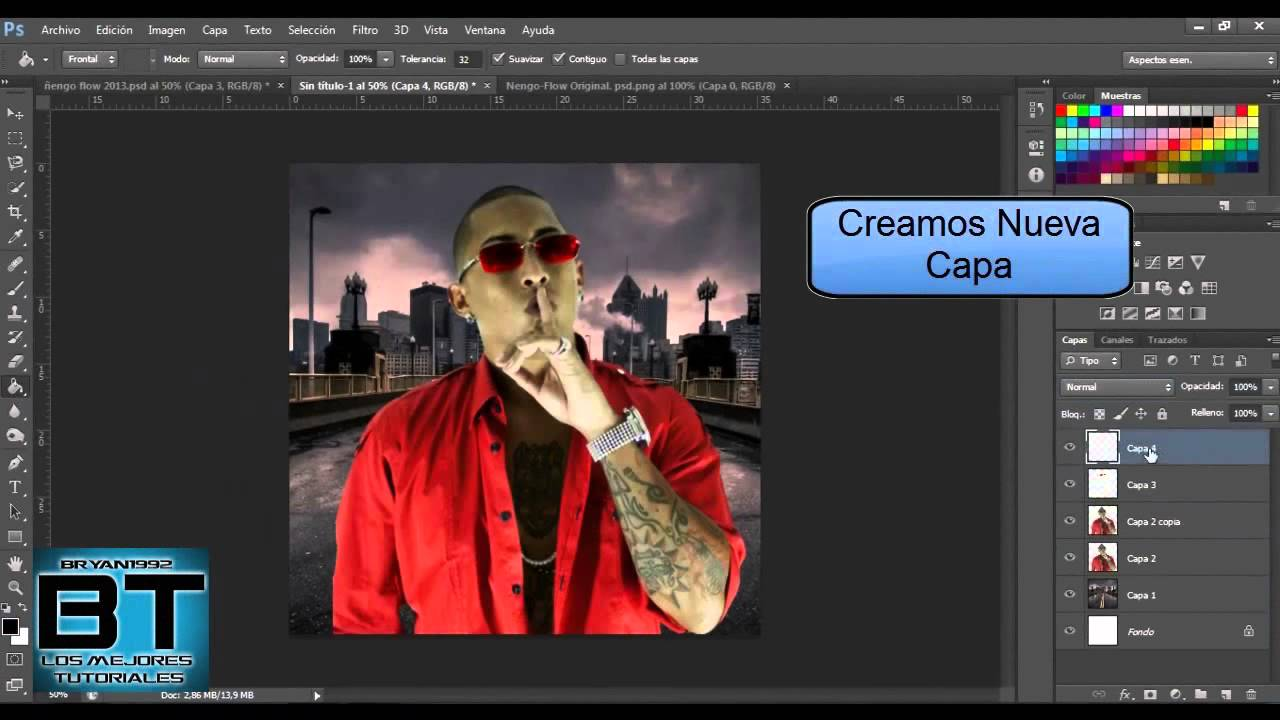 how to make cover for music album with photoshop cs6