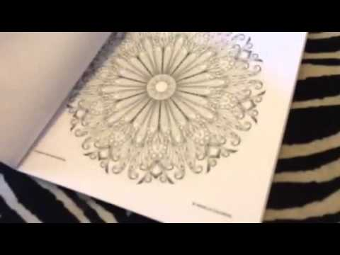 Vanilla Coloring Flower & Animals Adult Coloring Book