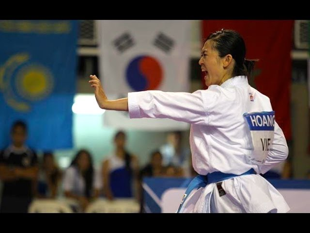 2013 World Games Female Kata FINAL - Scordo vs. Nguyen Travel Video