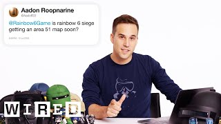 Download Ubisoft Answers Rainbow Six Siege Questions From Twitter | Tech Support | WIRED Mp3 and Videos