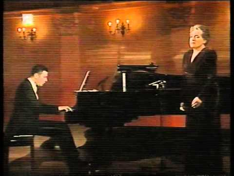 Dunja Vejzović - Robert Schumann (Lied) - Zagreb 1998