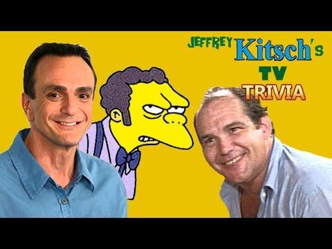 Kitsch's TV Trivia  Moe's original voice actor