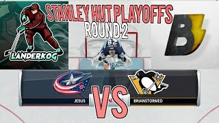 STANLEY HUT PLAYOFFS ROUND 2! Landerkog vs. Brianstormed (Columbus vs. Pittsburgh)