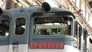 電気機関車EF65 2089 全般検査 JR貨物 大宮車両所 2019年5月25日