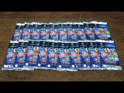 Match Attax Champions League 2016/17 - 20 PACK OPENING!