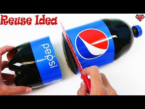 Plastic Bottle Craft Ideas Easy || Cold Drinks Bottle Reuse || Plastic Bottle Tree