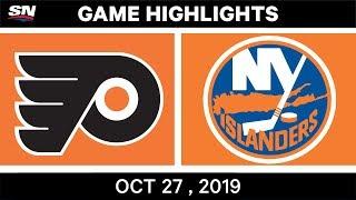 New York Islanders vs. Philadelphia Flyers - Game Highlights