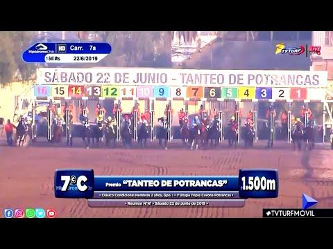 """(HCH) SANENUS   Cl. """"Tanteo de Potrancas""""   G.I - 1.500m   22/06/2019"""