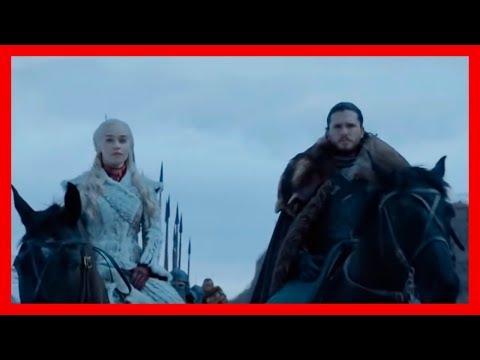 Игра престолов 8 сезон 1 серия L Армия Дейнерис прибывает в Винтерфел L Встреча с Браном и Сансой